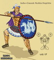 Indo-Greek Noble Hoplite