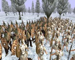 Winter battle in Getia